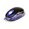 DYNAMODE USB OPTICAL MOUSE TRANSPARENT/ ILLUMINAT LED
