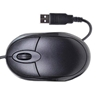 DYNAMODE USB OPTICAL MOUSE BLACK / GREY -QQQ