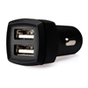 TECNOWARE MOBILE CAR CHARGER HD 2 USB PORT 3.4A RUBBER COATE