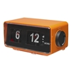 DENVER PLL FM CLOCKRADIO IN RETRO LOOK ALARM FUNCTION FLIP D