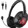 EKSA AIR JOY PRO GAMING HEADSET CORDED 7.1 SUR SOUND RED
